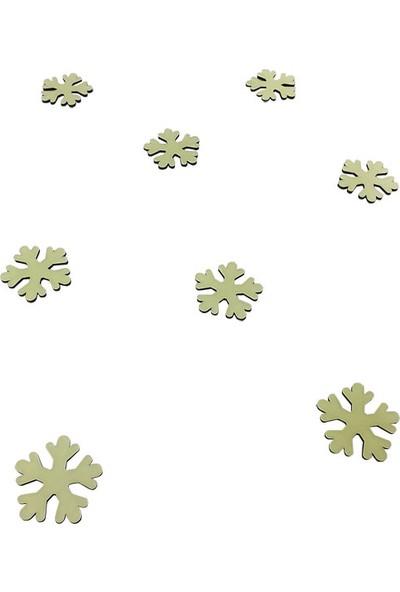 Faami Style Fosforlu Kar Tanesi 8 Adet