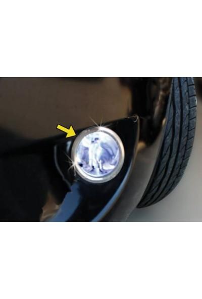 Başkent Oto Fiat Fiorino Krom Sis Farı Çerçevesi 2 Parça 2008 Üzeri