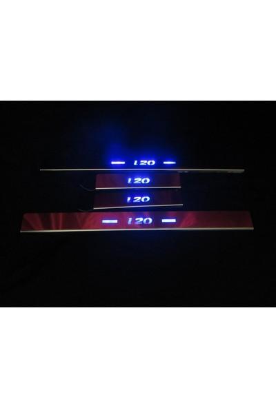 Başkent Oto Hyundai I20 Krom Işıklı Kapı Eşiği 4 Parça 2015 Üzeri
