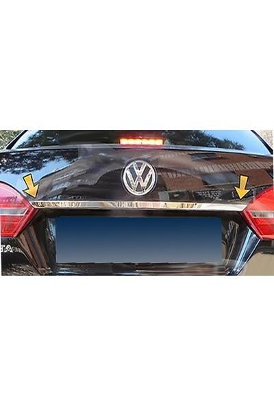 Başkent Oto Volkswagen Jetta Krom Bagaj Çıtası 2011-2014 Paslanmaz Çelik