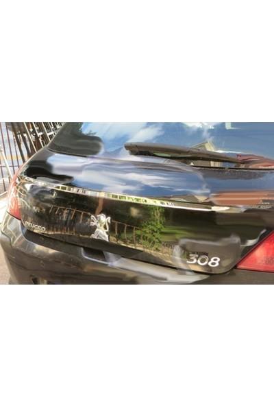 Başkent Oto Peugeot 308 Krom Bagaj Çıtası 2007-2014 Paslanmaz Çelik