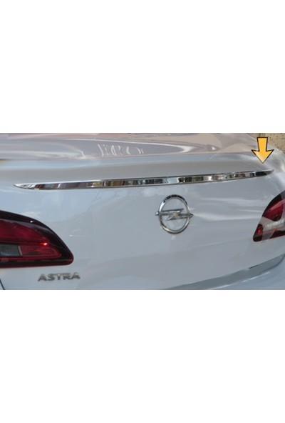 Başkent Oto Opel Astra J Sedan Krom Bagaj Çıtası 2010 Üzeri Paslanmaz Çelik