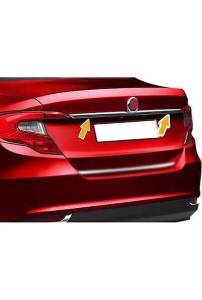 Başkent Oto Fiat Egea Sedan Krom Bagaj Çıtası Paslanmaz Çelik