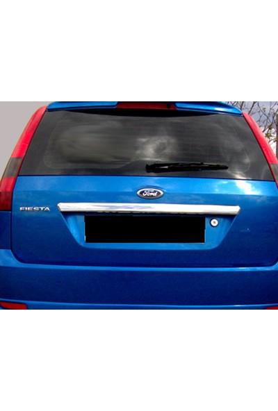 Başkent Oto Ford Fiesta Krom Bagaj Çıtası 2002-2009 Paslanmaz Çelik