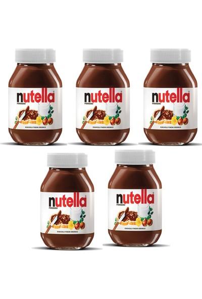 Nutella Kakaolu Fındık Kreması x 5'li - 630 gr