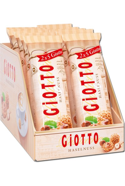 Giotto Haselnuss 5 x 2'li Paket - 10'lu - 43 gr