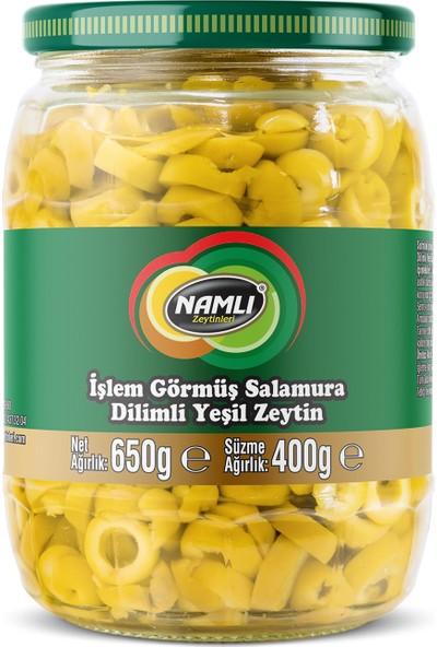 Namlı Zeytinleri Dilimli Yeşil Zeytin - 400 gr
