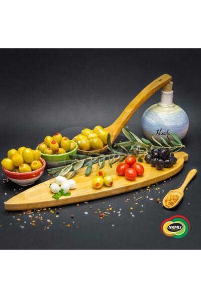 Namlı Zeytinleri Biber Dolgulu Yeşil Zeytin - 1 kg