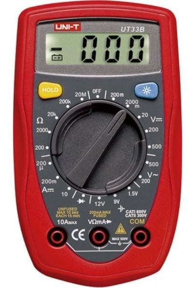 Unı-T UT33B Dijital Multimetre Ölçü Aleti