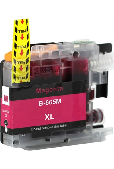 Adler Brother LC665XL / MFCJ2320 / J2720 Muadil Kartuş 15ML Kırmızı