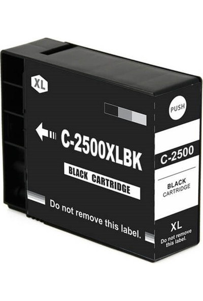 Adler Canon Maxify PGI-2500XL İB4050+MB5050+MB5350 Muadil Kartuş Siyah
