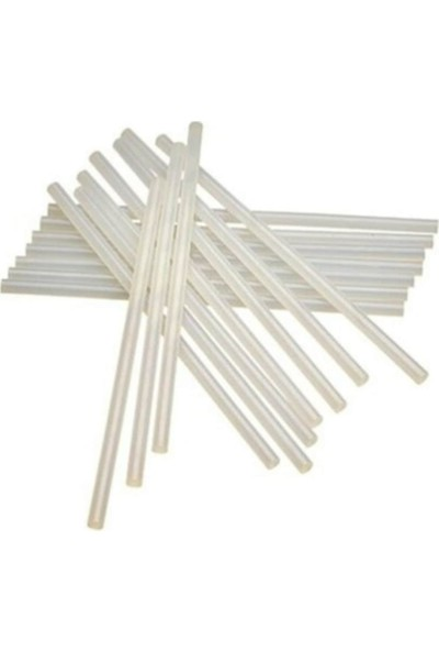 Oyunlarla Fen Ince Mum Çubuk Sıcak Silikon 7 mm x 30 cm 5'li