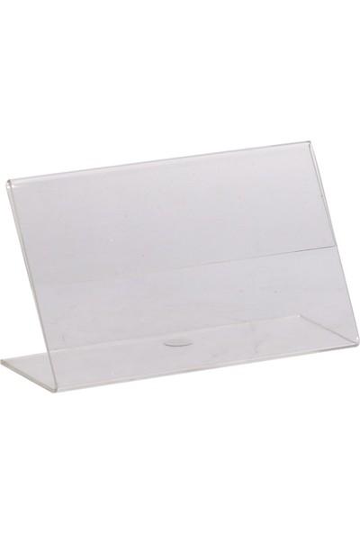 Standmarket Etiketlik Pleksi 9 x 15 cm 5'li