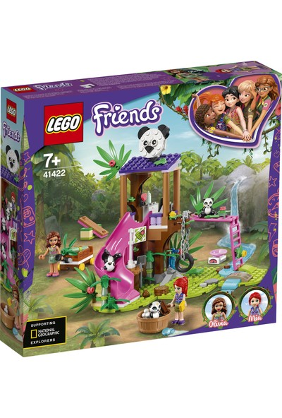 LEGO® Friends Panda Orman Ağaç Evi 41422 Yapım Seti