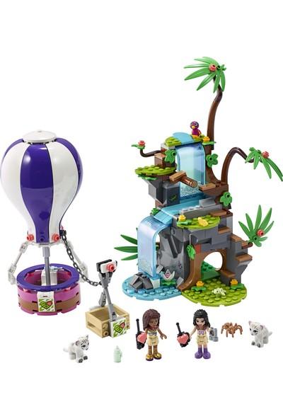 LEGO® Friends Sıcak Hava Balonuyla Kaplan Kurtarma Operasyonu 41423 Yapım Seti (302 Parça)