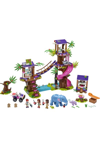 LEGO® Friends Orman Kurtarma Üssü 41424 Yapım Seti (648 Parça)