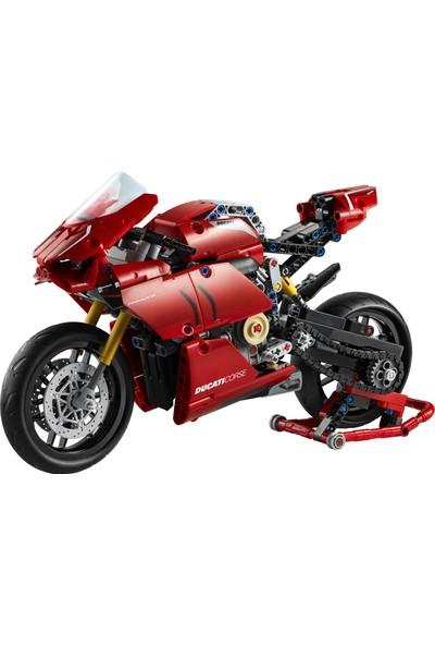 LEGO® Technic™ 42107 Ducati Panigale V4 R Motorsiklet Oyuncak Yapım Seti (646 parça) - Çocuk ve Yetişkin için Koleksiyonluk Oyuncak
