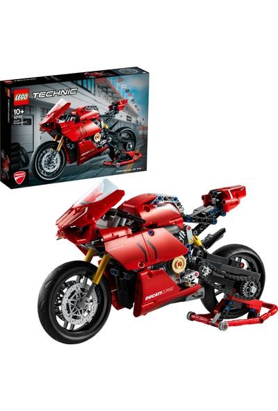LEGO® Technic™ Ducati Panigale V4 R 42107 Yapım Seti