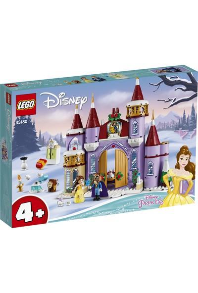 LEGO® ǀ Disney Belle'in Şatosu Kış Kutlaması 43180 Yapım Seti