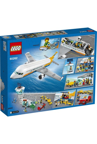 LEGO® City Yolcu Uçağı 60262 Yapım Seti (669 Parça)
