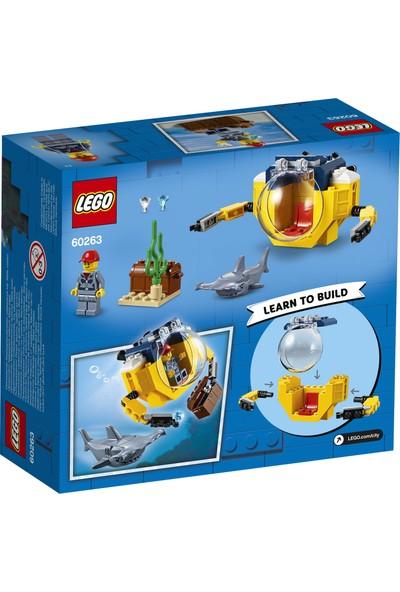 LEGO® City Okyanus Mini Denizaltı 60263 Yapım Seti