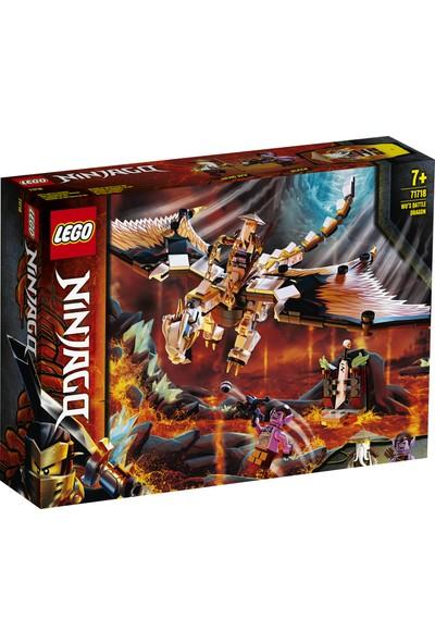 LEGO® NINJAGO® Wu'nun Savaş Ejderhası 71718 Yapım Seti (321 Parça)