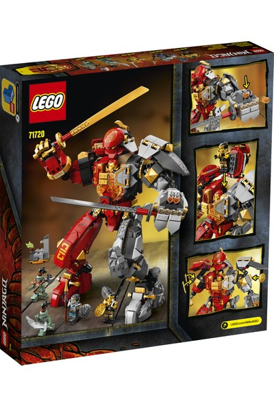 LEGO® NINJAGO® Ateş Taşı Robotu 71720 Yapım Seti (968 Parça)