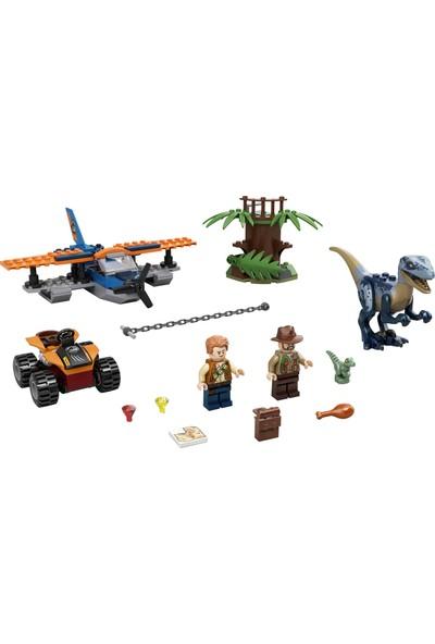 LEGO® Jurassic World Velociraptor: Uçakla Kurtarma Görevi 75942 Yapım Seti (101 Parça)