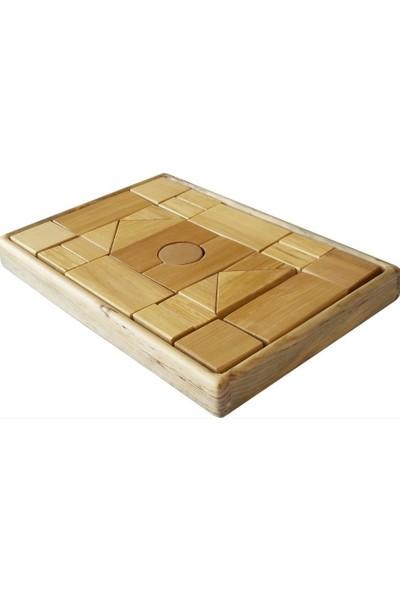 Edu Dizayn Ahşap Doğal Bloklar
