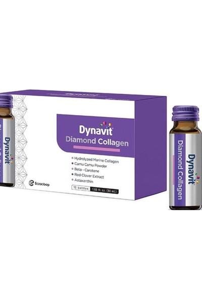 Dynavit Diamond Collagen - Takviye Edici Gıda 10 Şişe / 50 ml