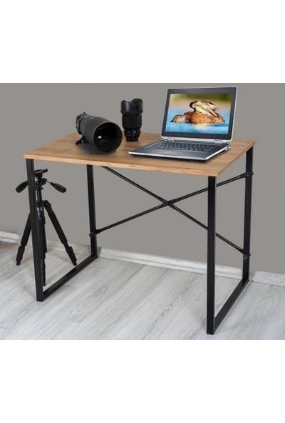 Yelken Mobilya Çalışma Masası Bilgisayar Laptop Masası Koyu