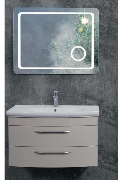 Lineart Asos 90 cm Banyo Dolabı Sahra