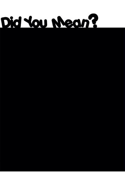 Dnart Yazılabilir Yapışkanlı Kara Tahta Sticker - Did You Mean Dnart-Cstc0116 38 x 48 cm