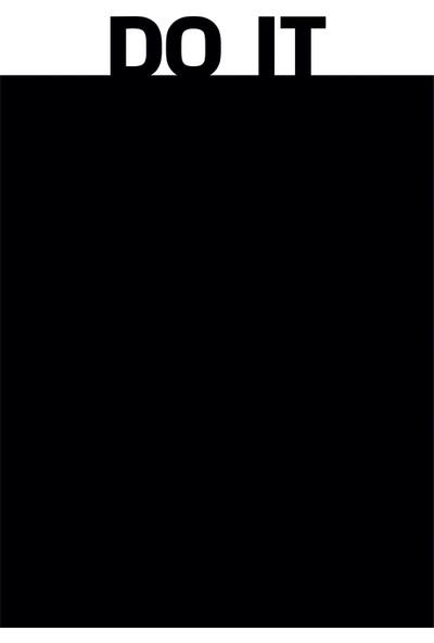 Dnart Yazılabilir Yapışkanlı Kara Tahta Sticker - Do It Dnart-Cstc0121 28 x 40 cm