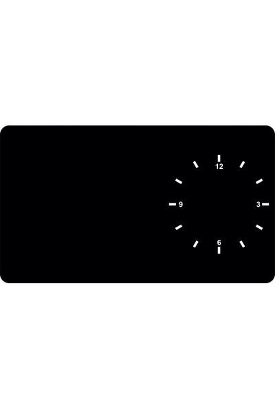 Dnart Yazılabilir Yapışkanlı Kara Tahta Sticker - Saat Dnart-Cstc0150 70 x 40 cm