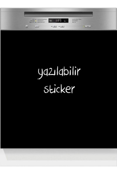 Dnart Yazılabilir Yapışkanlı Kara Tahta Sticker - Bulaşık Makinesi Dnart-Cstc0169 60 x 60 cm