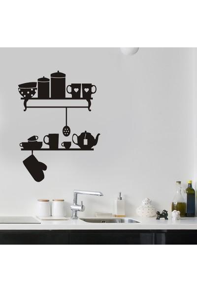 Dnart Duvar Sticker - Mutfak Gereçleri Dnart-Stc0234 60 x 80 cm