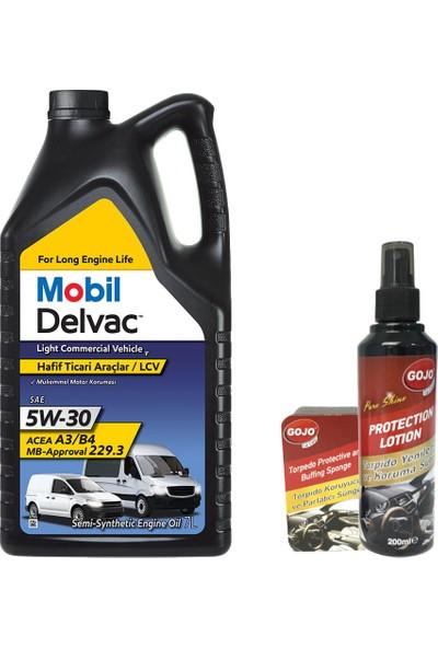 Mobil Delvac Lcv T Hafif Ticari Araç Motor Yağı 5W30 7 lt
