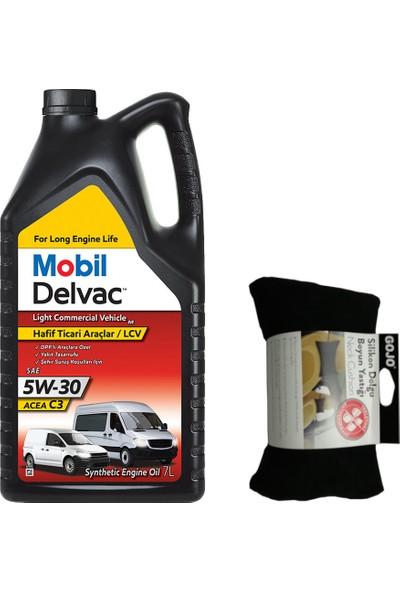 Mobil Delvac Lcv M 5W30 Hafif Ticari Motor Yağı 7 lt