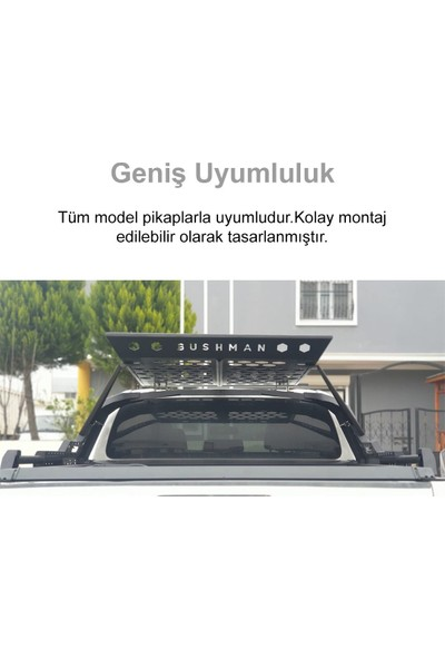 Roxform Toyota Hilux Metal Sepetli Rollbar - Offroad Aksesuarları
