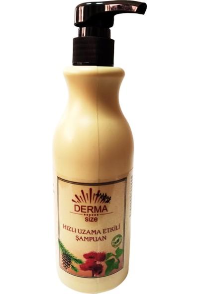 Dermasize Bitkisel Hızlı Uzama Etkili Şampuan 500 ml