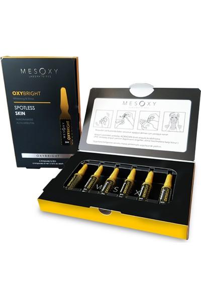 Mesoxy Oxybright Cilt Lekesi Bakım Serumu 2 ml x 6 Ampul
