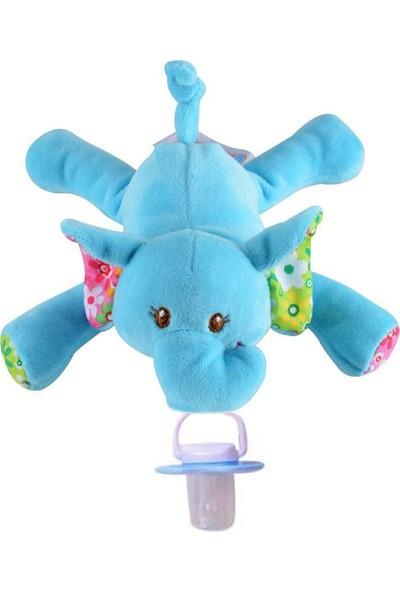 Sozzy Toysemzikli Mavi Fil