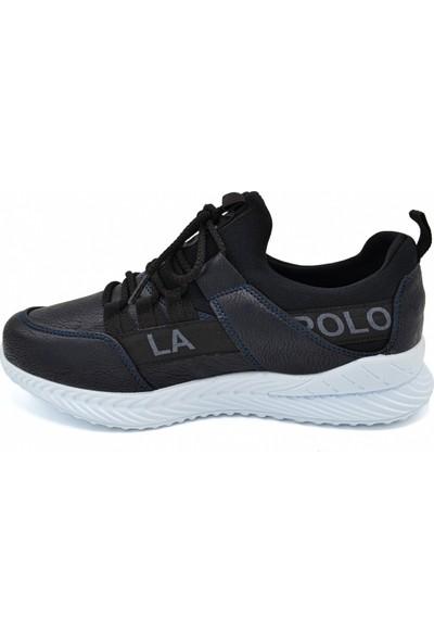 L.A Polo Mrd 110 Lacivert Siyah Beyaz Erkek Spor Ayakkabı