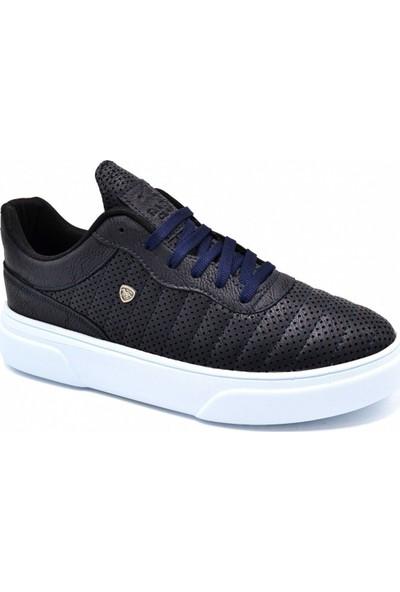 L.A Polo Mrd 111 Lacivert Beyaz Erkek Spor Ayakkabı