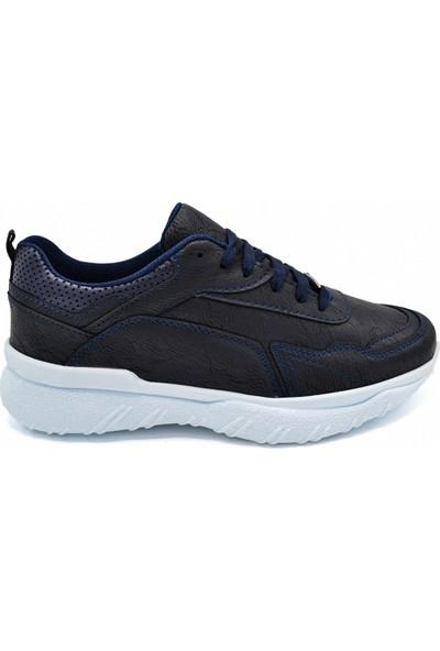 L.A Polo Mrd 106 Lacivert Beyaz Erkek Spor Ayakkabı