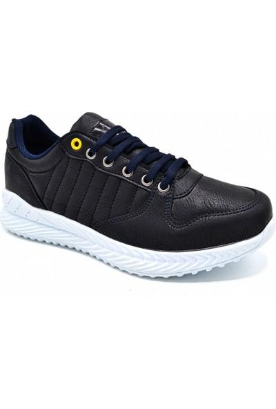 L.A Polo Mrd 103 Lacivert Beyaz Erkek Spor Ayakkabı