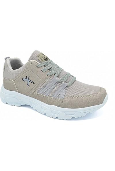 Scot Mrd 2004 Krem Beyaz Erkek Spor Ayakkabı