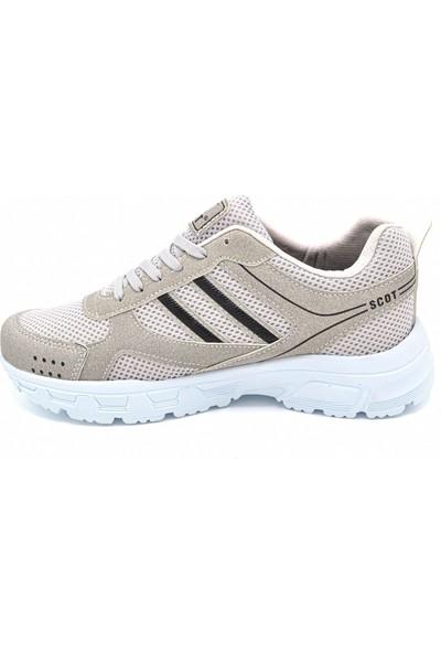 Scot Mrd 2002 Krem Beyaz Erkek Spor Ayakkabı