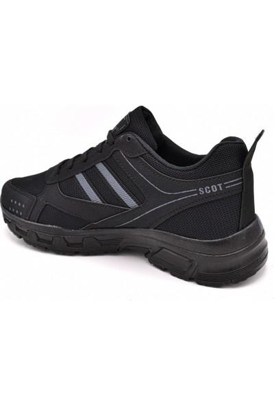 Scot Mrd 2002 Siyah Erkek Spor Ayakkabı